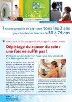 Couverture Lettre d'information des patients 9