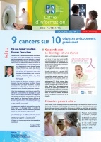 Couverture Lettre d'information des patients 5