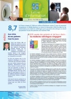 Couverture Lettre d'information des patients 11